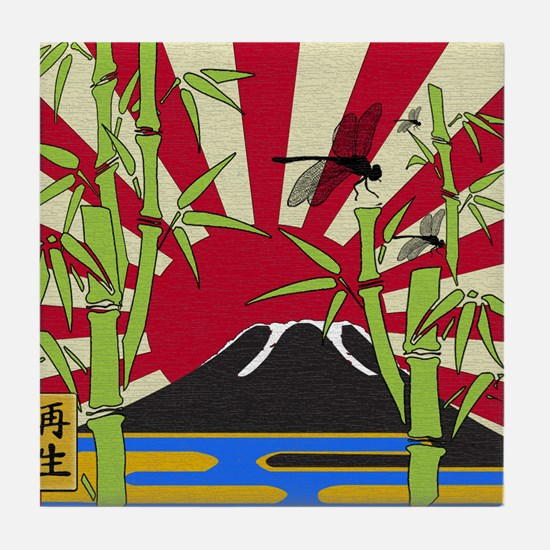 JAPAN Tile Coaster