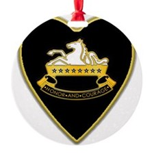 8th-Cavalry-Heart-neckless Ornament