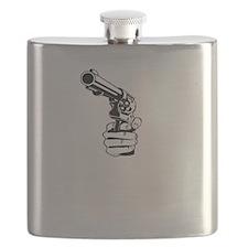 huckleberry2white Flask