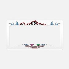 Autism-Bird-and-Heart-Tattoo License Plate Holder