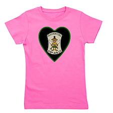 219th-RAC-Heart-neckless Girl's Tee