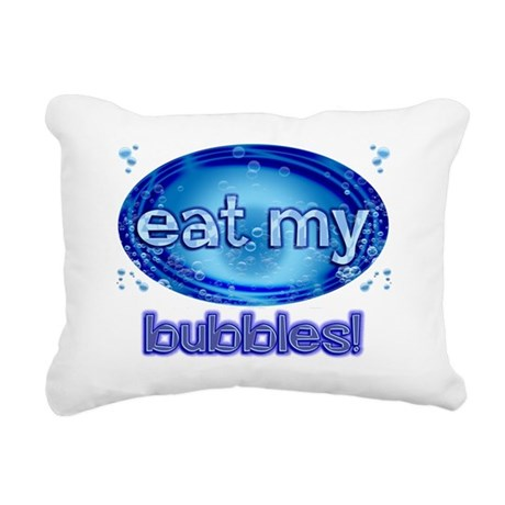 eatmy Rectangular Canvas Pillow