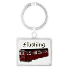 Flushing1 Landscape Keychain