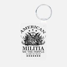 American Militia Keychains