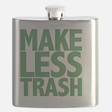 Make Less Trash.Green Flask