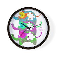 autistic_27 Wall Clock
