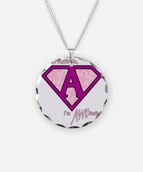 AWEtistic - pink - transp Necklace