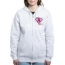 AWEtistic - pink pin Zip Hoodie