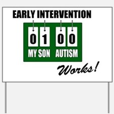 earlyinterventionworksSON Yard Sign