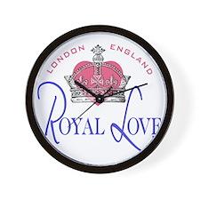 Royal Love 1 Wall Clock