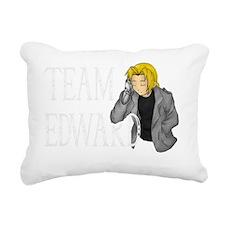 Team Edward Rectangular Canvas Pillow