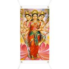 Tridevi_Hindu_Three_Goddesses_Stadium_Blank Banner
