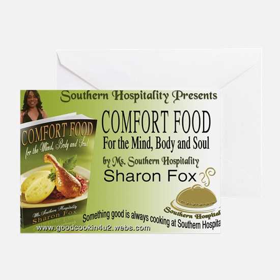 Southern Hospitality - Comfort Food  Greeting Card