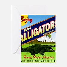 FLORIDA ALLIGATORS_STADIUM_BLANKET Greeting Card