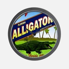FLORIDA ALLIGATORS_STADIUM_BLANKET Wall Clock