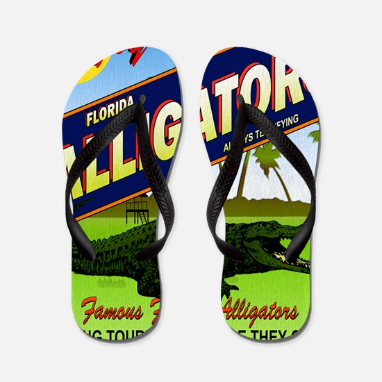 FLORIDA ALLIGATORS_STADIUM_BLANKET Flip Flops