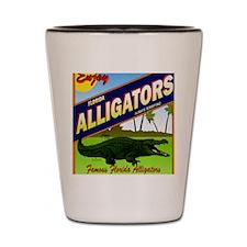 FLORIDA ALLIGATORS_STADIUM_BLANKET Shot Glass