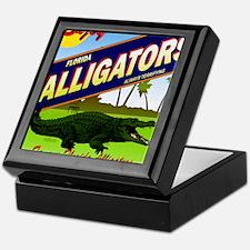 FLORIDA ALLIGATORS_STADIUM_BLANKET Keepsake Box