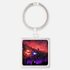 Observatory Mousepad Square Keychain
