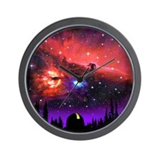 Observatory Mousepad Wall Clock