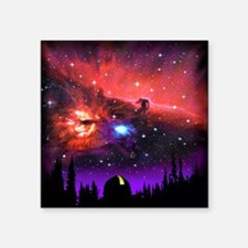 """Observatory Mousepad Square Sticker 3"""" x 3"""""""