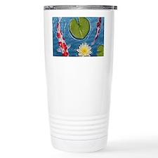 Koi Mousepad Travel Mug