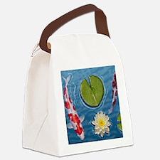 Koi Mousepad Canvas Lunch Bag