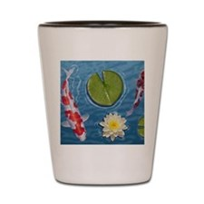 Koi Mousepad Shot Glass
