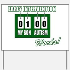 earlyinterventionworksSON-darkbg Yard Sign