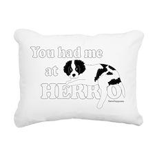 HerroPuppy Rectangular Canvas Pillow