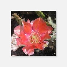 "Flower_8e Square Sticker 3"" x 3"""