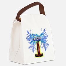 TESLACOIL Canvas Lunch Bag
