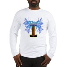 TESLACOIL Long Sleeve T-Shirt
