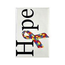 hope - rotated Rectangle Magnet