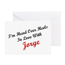 In Love with Jorge Greeting Cards (Pk of 10)