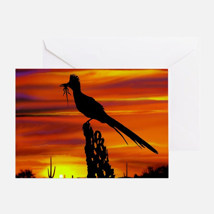 Roadrunner Mousepad Greeting Card