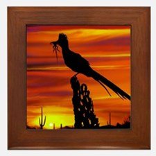 Roadrunner Mousepad Framed Tile