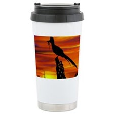 Roadrunner Mousepad Travel Mug