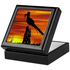 Roadrunner Mousepad Keepsake Box