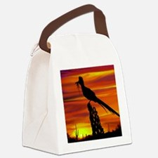 Roadrunner Mousepad Canvas Lunch Bag