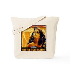 WAR WOMEN FREEDOM CAFE Tote Bag