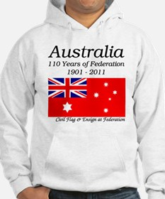 Flag_of_Australia_1901-1903_RED- Hoodie