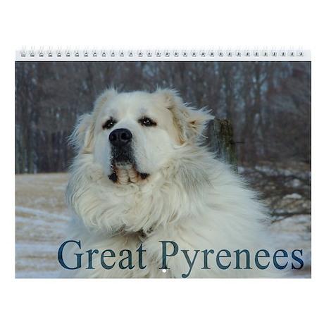 2015 Great Pyrenees Wall Calendar