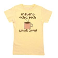 Instant Echo Tech coffee Girl's Tee