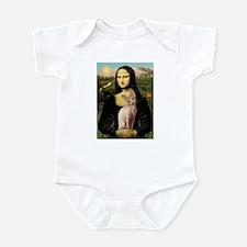 Sphynx Cat & Mona Lisa Infant Bodysuit