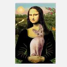 Sphynx Cat & Mona Lisa Postcards (Package of 8)