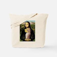 Sphynx Cat & Mona Lisa Tote Bag