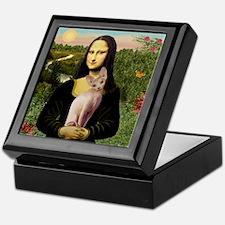 Sphynx Cat & Mona Lisa Keepsake Box
