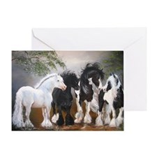 Stallions Greeting Card