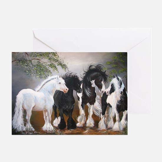Stallions Greeting Card